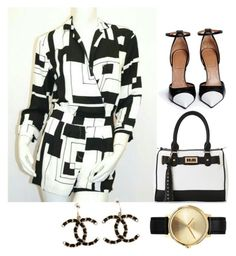 """""""Untitled #64"""" by malika-craft on Polyvore featuring Givenchy, IMoshion, Nixon and Chanel"""