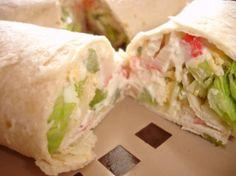 Subway Crab Salad Tortilla Wraps Recipe