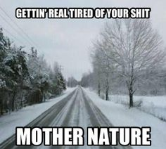 Hell yes I am! I want sunshine and temps over 40!