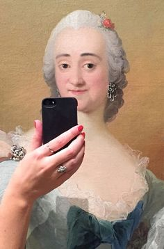 Paintings Take Selfies in These Museum Remixes | The Creators Project