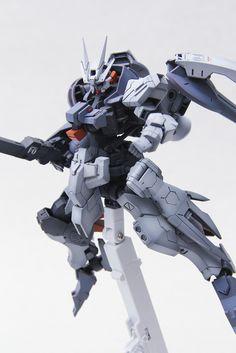 MODELER: Shen MODEL TITLE: Gundam Astaroth [High Mobility Test Type] MODIFICATION TYPE: kit bash, custom color scheme, custom paint job...