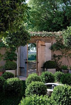 french country garden