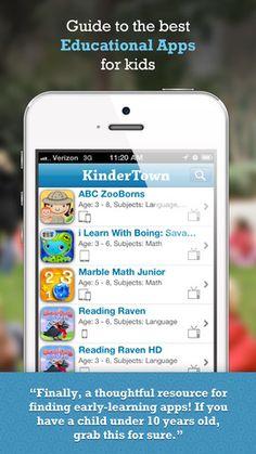 KinderTown Preschool and Kindergarten Educational Games