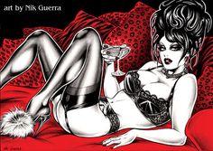 Original Nik Guerra art illustration /  by NikGuerraOriginalArt, €300.00