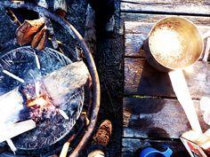 outdoor chili: a simple but delicious recipe.