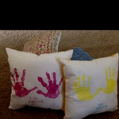 DIY Pillow - Gift For Mom (With Free Template | Template, Pillows ...