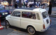 Fiat 500 Giardiniera estate with suicide doors