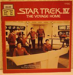 Star Trek IV The Voyage Home 1986 by mandtsimplyvintage on Etsy, $12.50