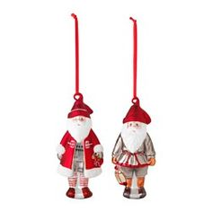 IKEA - VINTER 2015, Hanging decoration, Easy to hang up since it comes with ribbons already attached.Mouth blown and hand-painted; each decoration has been shaped by a skilled craftsmen.