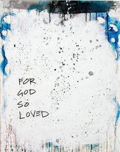 "'that He gave' by kenT youngstrom | $250 | 18""W x 24""H x 1.5""D | Original Art | http://vng.io/l/504oApk0Bq @VangoArt"