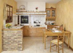 armários de alvenaria para cozinha estilo rustico - Pesquisa Google