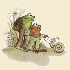 The adorable Frog and Toad by Arnold Lobel Frosch Illustration, Children's Book Illustration, Arnold Lobel, Frog Art, Frog And Toad, Book Characters, Childhood Memories, Childrens Books, Teacher Tips