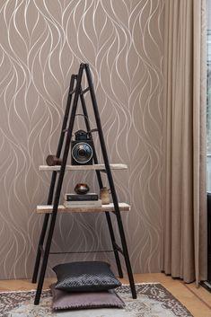 Bruin Behang / Brown Wallpaper collection Moods - BN Wallcoverings
