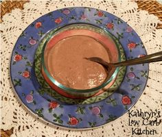 Kathryn's Low Carb Kitchen: Chocolate Chia Gelatin Dessert