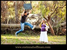 Excited Daddy! Great Maternity picture idea. I could so see Brian being silly like this lol.