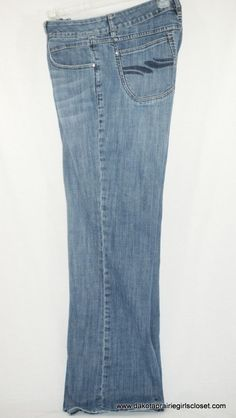 "Silver Jeans Size 27 Aiko 30"" Inseam Medium Wash W26/L30 