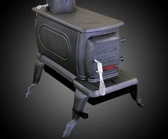 Lil Sweetie Cast Iron Stove | DudeIWantThat.com