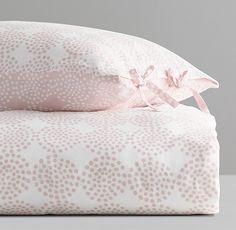 Mali Print Ultra-Fine Organic Cotton Clustered Dots Duvet Cover