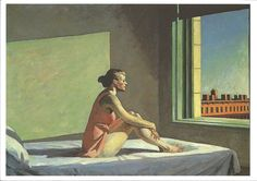'Morning Sun' - Edward Hopper Columbus Museum of Art Columbus, Ohio, USA