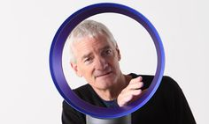 James Dyson inventor of novel fans and vacuums