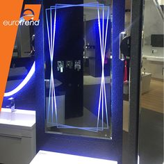 Create a high class & glamourous atmosphere with these LED mirrors   Explore more of our LED mirrors online  #LEDMirror #Mirrors