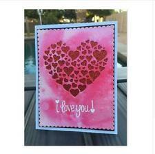 die cuts metal in Scrapbooking & Paper Crafts Heart Decorations, Heart Cards, Scrapbook Paper Crafts, Die Cutting, Scrapbooks, Stencils, Card Making, Invitations, Ebay