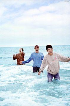 EXO  Sehun (Oh Sehun), Kai (Kim Jong-in) and Chen (Kim Jongdae)