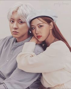 Sehun And Luhan, Chanyeol, Rose Chan, Kpop Couples, Ulzzang Couple, Xiu Min, Park Chaeyoung, Imagines, Wattpad