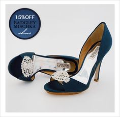 Flirty, feminine designer wedding shoes on SALE NOW. Find your blue bridal shoes at Perfect Details. Teal Wedding Shoes, Blue Bridal Shoes, Teal Shoes, Designer Wedding Shoes, Satin Shoes, White Shoes, Creative Shoes, Badgley Mischka Shoes, Evening Shoes