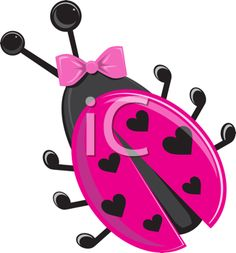 iCLIPART.com - Royalty Free Clipart Image of a Love Bug