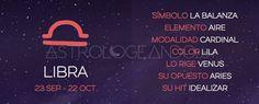 Libra: Características #Astrología #Zodiaco #Astrologeando #Libra
