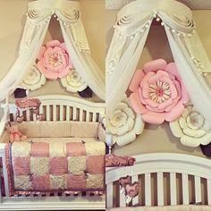 Elegant Crown canopy (price includes crown, curtains and canopy frame). Bed Crown Canopy, Twin Canopy Bed, Canopy Bed Curtains, Ruffle Curtains, Canopy Frame, King Beds, Queen Beds, Girls Bedroom Storage, Girl Bedroom Designs
