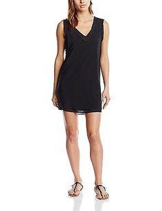10, Black - Noir (Black), DDP Women's F9tomt20 Sleeveless Dress NEW