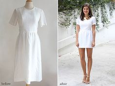 before and after party dress a pair and a spare by apairandaspare, via Flickr