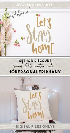lets stay home svg family quotes cut files rustic home decor #etsy #homedesign #homedecor #homedesign #homesweethome #livingroomdecor #livingroom #stencils #etsyshop #etsyseller #svg #svgcuts #svgfiles #cricut #silhouetteamerica #silhouette #silhouettecameo
