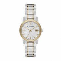 Burberry Quartz Analog Date Stainless Steel Watch# BU9115 (Women Watch)