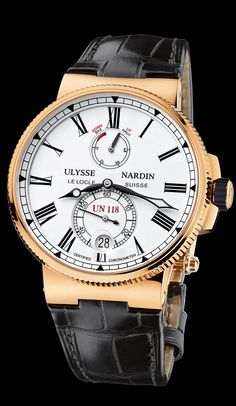- Marine Chronometer Manufacture - Marine Chronometer - Marine - Welcome to the Ulysse Nardin collection - Ulysse Nardin - Le Locle - Suisse - Swiss Mechanical Watch Manufacturer Dream Watches, Fine Watches, Cool Watches, Men's Watches, Swiss Luxury Watches, Luxury Watches For Men, Marine Chronometer, Le Locle, Beautiful Watches