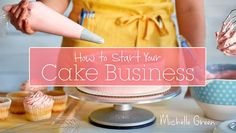 Discover how to get your cake business up and running with expert advice and smart strategies.