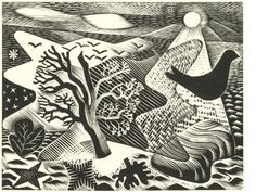 Engraving on wood by Eric Ravilious