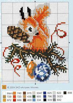 Xmas squirrel Gallery.ru / Фото #1 - 057 - anethka