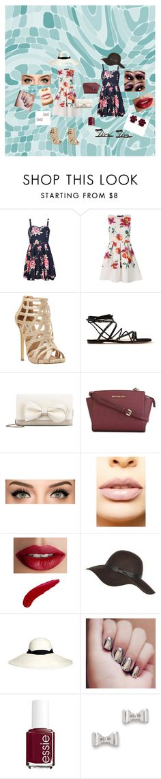 """Summer Barbeque"" by annaprybylski ❤ liked on Polyvore featuring Ally Fashion, Steve Madden, Gianvito Rossi, RED Valentino, MICHAEL Michael Kors, LASplash, TheBalm, Sensi Studio, Essie and Marc by Marc Jacobs"