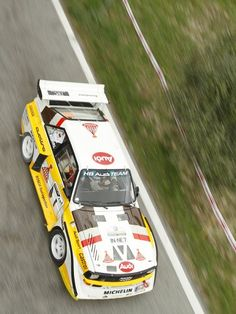 Audi Quattro rally car - Group B Audi Quattro, Allroad Audi, Audi Motorsport, Audi 1, Old Sports Cars, Automobile, Rally Raid, Volkswagen Group, Audi Sport