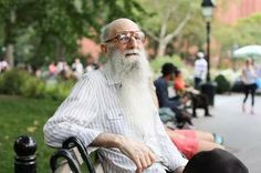 """Humans of New York - """"if you have a beard, it takes longer for people to notice that you don't have any teeth"""""""