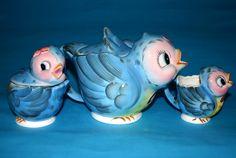 Geo.Z. Lefton.  Bluebird nursery ware.  Verging on the overly cute but I like it.