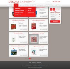 Webdesign rework for existing product based website with lots of product pictures and few text by Trueart