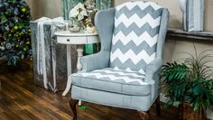 DIY Upholstery Painting