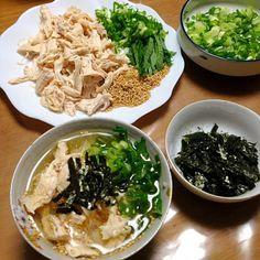 冷たい出汁茶漬け、暑い日に最高です。 今日京都の最高気温は38度を超えました! 本当に暑い^_^; maichyoさんの料理を思いだして、今日はこれしかないと確信しました! 冷たくさっぱりですが、出汁が効いて美味しい(^-^)/ 家族にも大好評です。 - 81件のもぐもぐ - maichyoさんの料理 鶏の冷たい出汁茶漬け by jazzwine