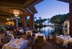 Hyatt Regency Maui - Sonz at Swan Court!  This is one of the top restaurants I've ever been to!!!