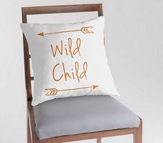 Hey, I found this really awesome Etsy listing at https://www.etsy.com/listing/230943847/wild-child-pillow-cover-customizable