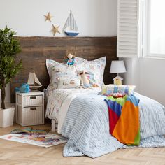 STRIPED COTTON AND LINEN CUSHION COVER AND QUILT - Quilts & Bedspreads - Bedroom | Zara Home България / Bulgaria